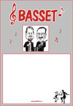 Microsoft Word - Basset-affisch i tegelrött, karikatyr