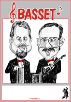Microsoft Word - Basset-affisch i tegelrött, stor karikatyr nr 2